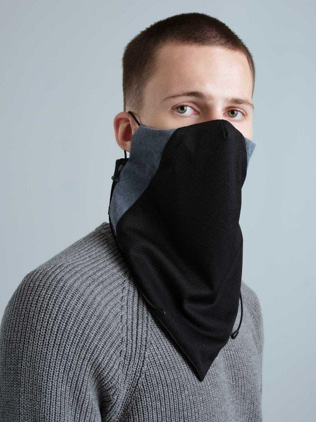 Masque Cache-cou avec filtre
