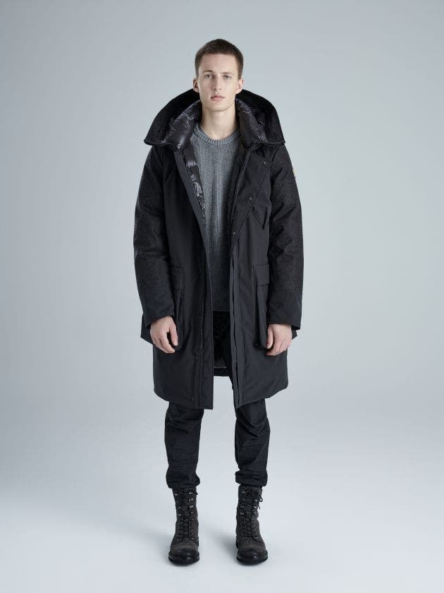 Jonas-wool black-XS