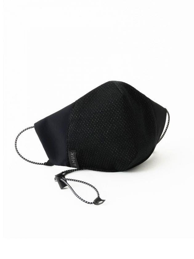 Masque Fil d'argent-noir-S