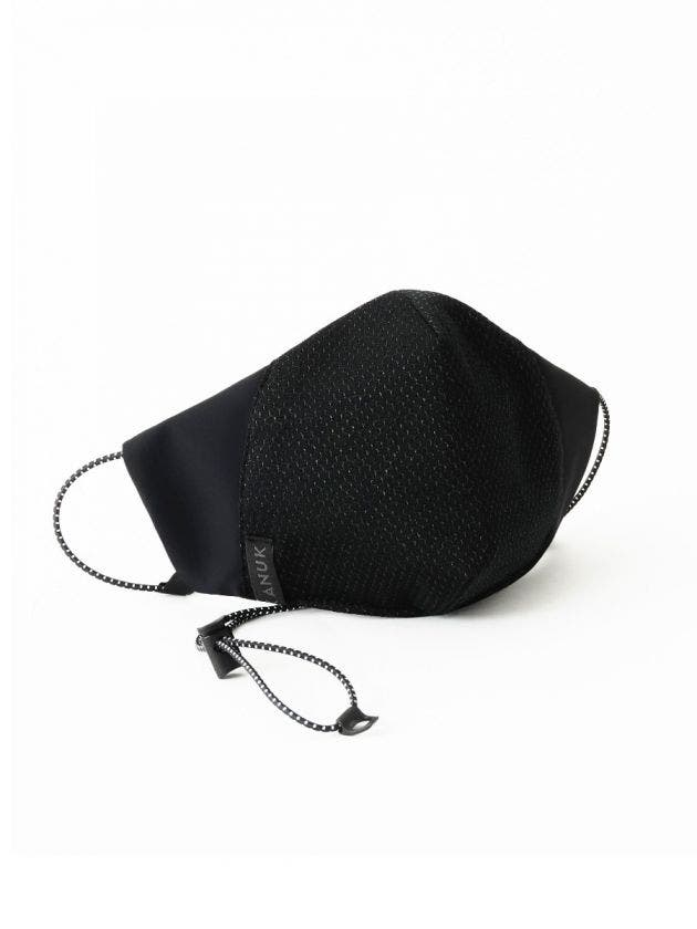 Silver thread face mask adult with filter