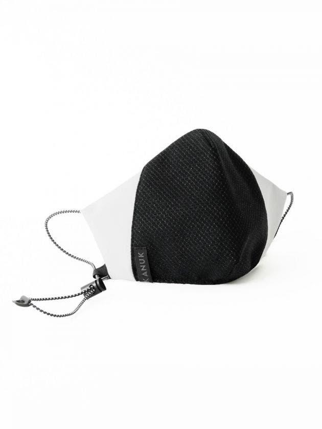 Silver Thread face mask-blanc -S/M