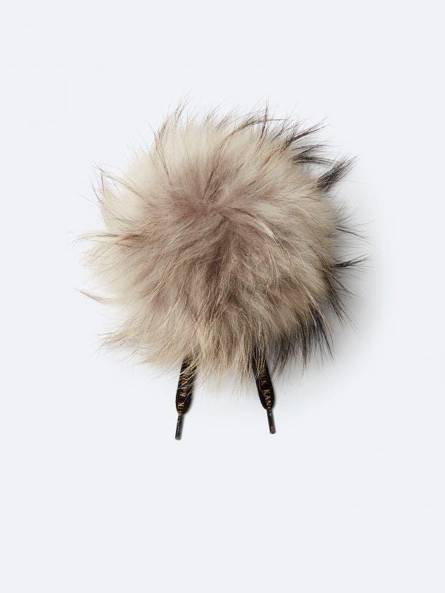 Pompon fourrure fauve