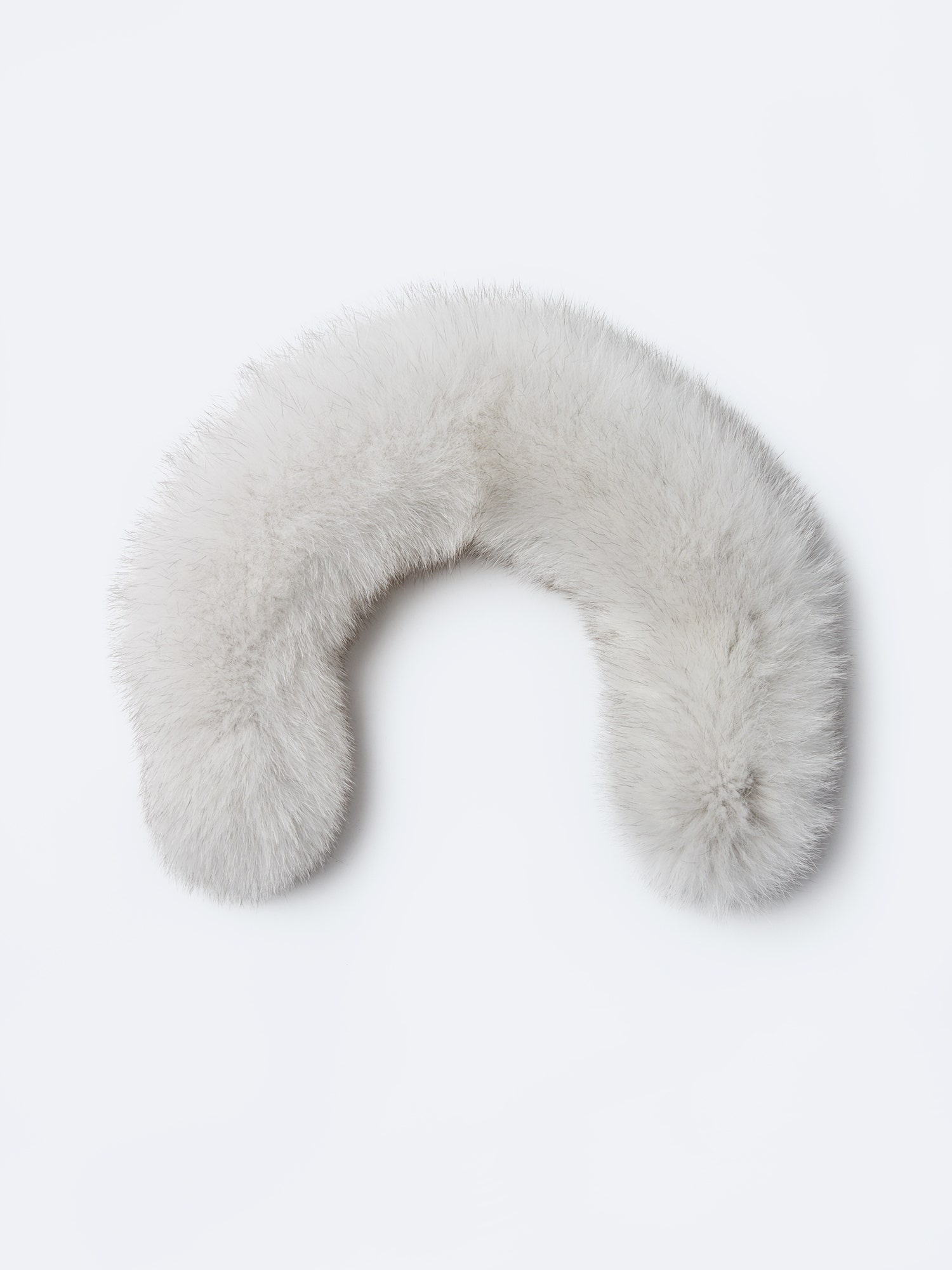 Fur white 23 inches