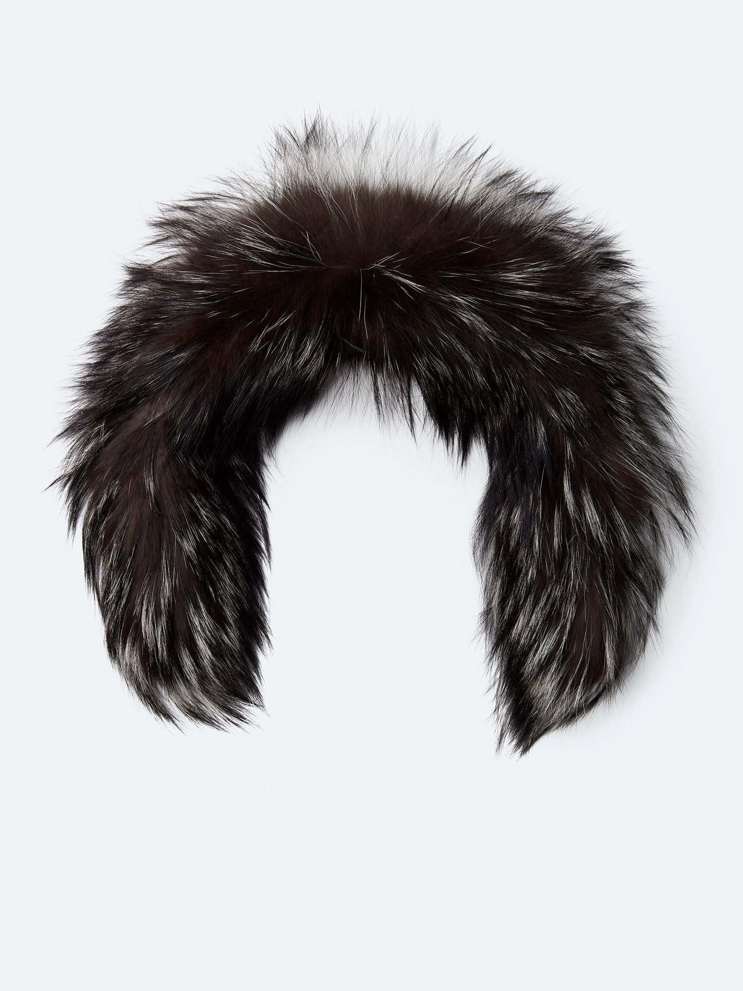 Fur silver 23 inches