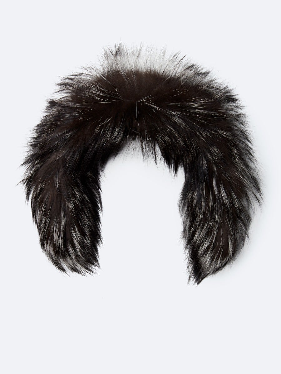 Fur silver 29 inches
