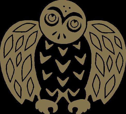 kanuk logo hibou